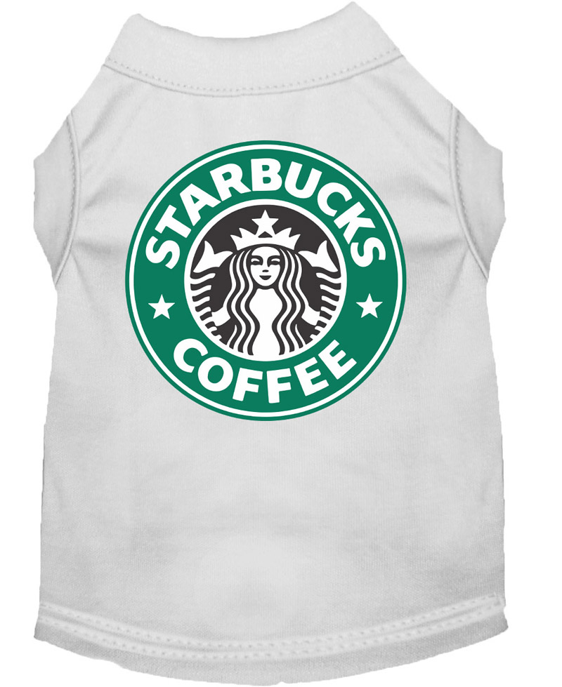 Starbucks Coffee Costume Shirt for Dogs