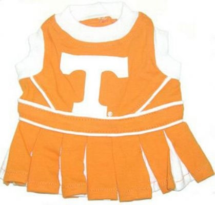 Tennessee Volunteers Dog Cheerleader Costume