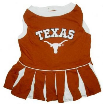 Texas Longhorns Dog Cheerleader Costume
