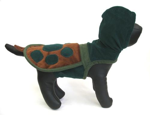 Turtle Hoodie Dog Costume