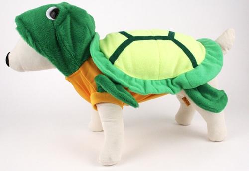 Green Turtle Dog Costume