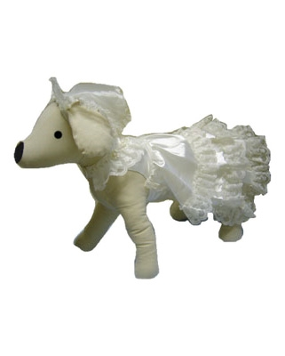 Designer Wedding Dress For Dogs