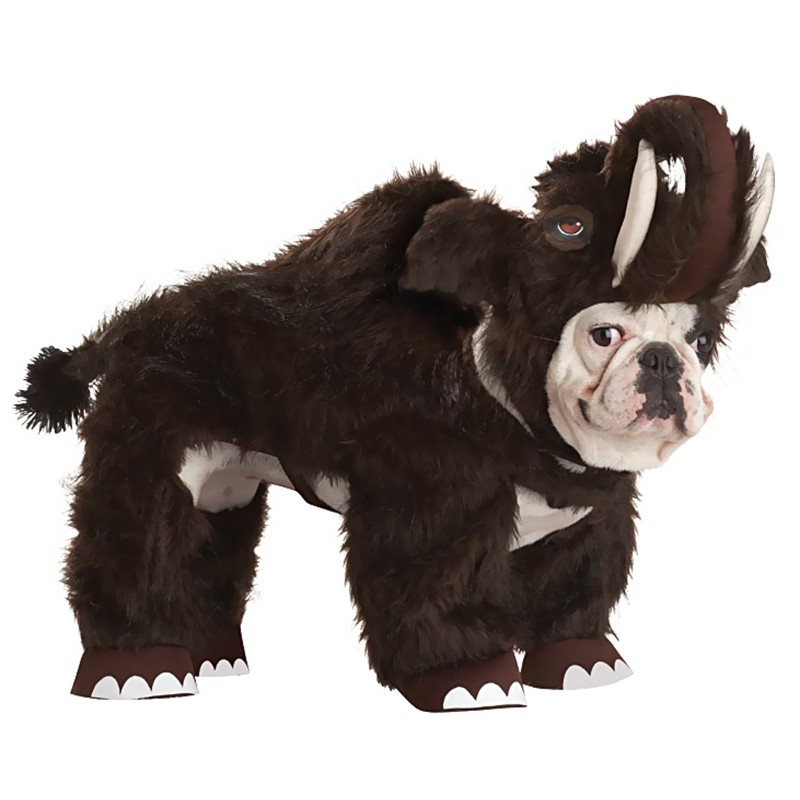 Wooly Mammoth Halloween Dog Costume