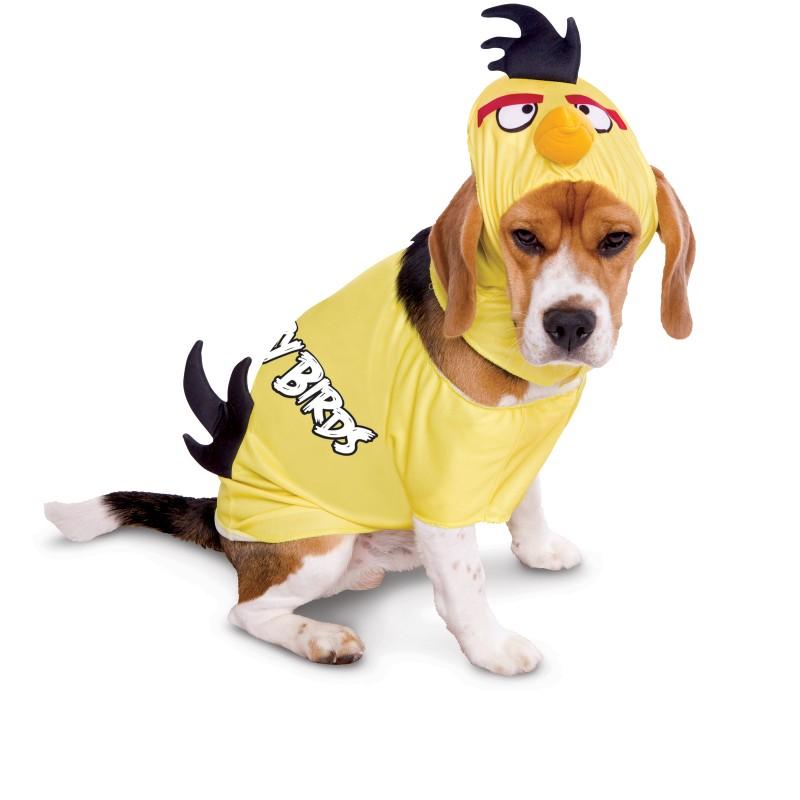 Yellow Angry Birds Halloween Dog Costume
