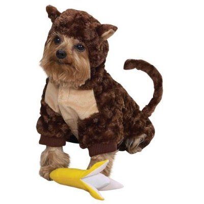 Adorable Monkey Dog Costume